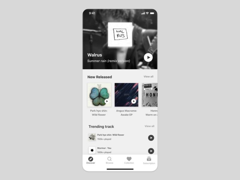 music app UI concept uiuxdesign music app music uiux card detail page design ui