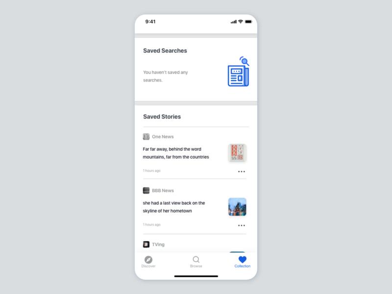 News App UI concept news app news uiuxdesign card uiux detail page app design ui
