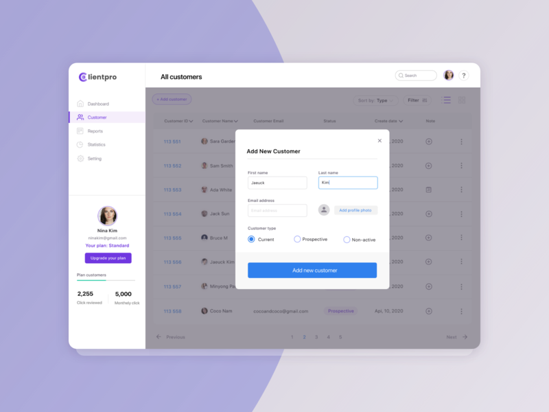 Add customer form customer service customer web ecommerce uiuxdesign uiux app design ui