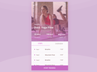 Yoga Training App