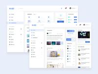 Social platform website concept