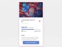 Donation app concept