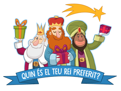 Three Wise Men tradition spanish night magic kings social network cartoon