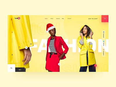 eCommerce : Homepage 3d modeling 3d mockup 3d landing page fashion landing page branding fashion website fashion design christmas addition christmas minimal fashion ecommerce design ecommerce