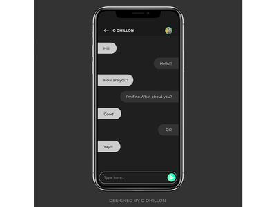 Messenger Idea