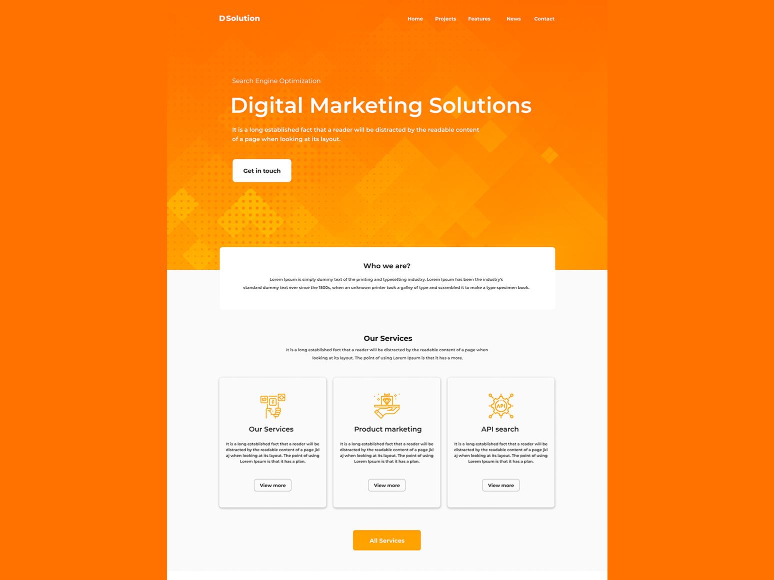 Drdi website banner ux minimal illustrator clean website web design web vector ui typography photoshop illustration design branding