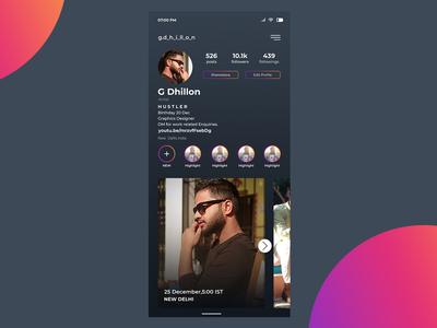 Instagram Buisness Profile Design
