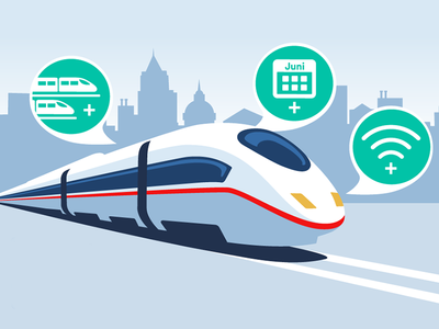 Train to promote new services