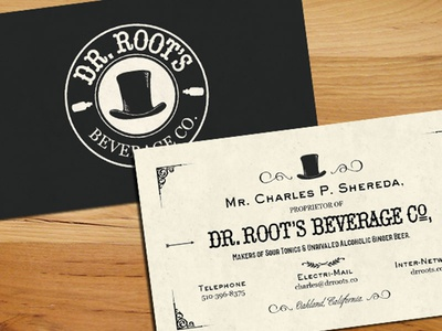Dr Root Business Card