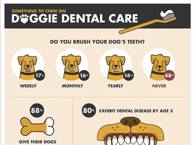 Dog Dental Health Infographic