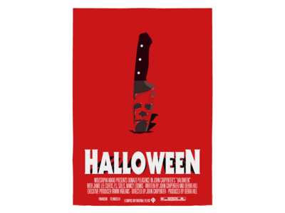 Halloween (1978) - Olly Moss Style (simplified)