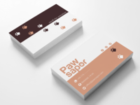 Business card for personal project