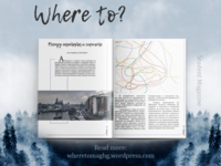 Where to? | Magazine layout & website