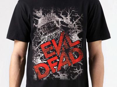 Evil Dead T-Shirt 3 evil dead slade carter darkflow media evil dead t-shirt evil dead poster