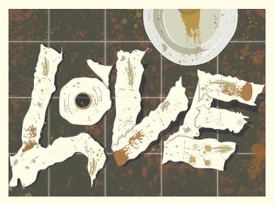 Love love slade carter love type creative type