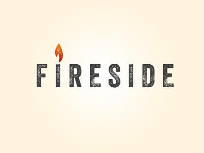 Fireside, option 2 simple grunge ash noir