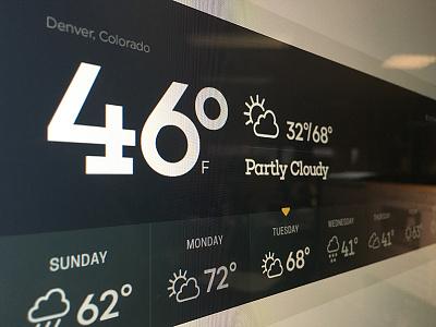 Weather Snapshot ux design app design ui design ui weather