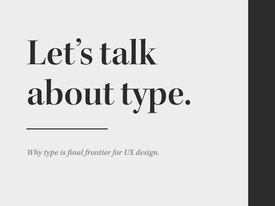 Intro to Responsive Type awesome design adobexd