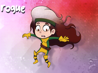Rogue rogue fanart marvel character cartoon coffeescartoon