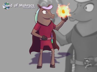 Maximus unicorn magic cartoon coffeescartoon