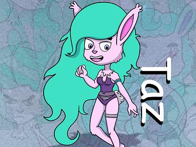 Taz cartoon familiar mahracs cute bunny