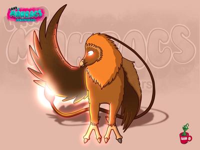 Vultoro the fire vulture.