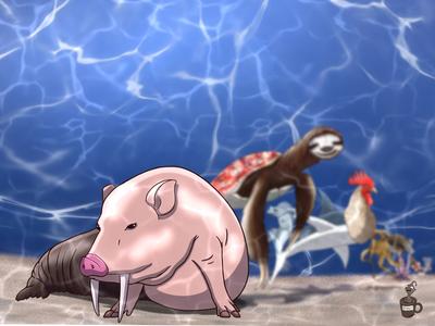 Potbelly Walrus