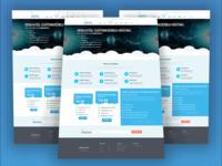 Hosting Website UI UX Design