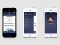 Meditation App UI UX Design