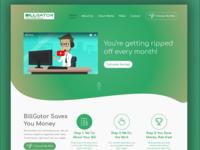 Billgator Website UI UX Design