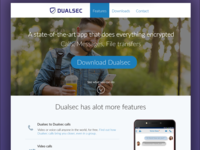 Dualsec UI Design Shot #1