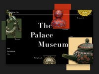 Daily UI 3   The Palace Museum