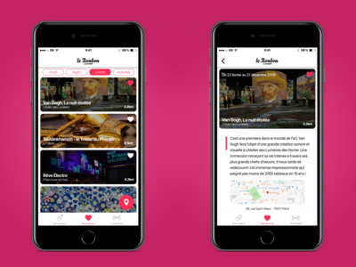 Le Bonbon Mobile App Redesign