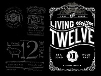 Living Twelve T-Shirt Design