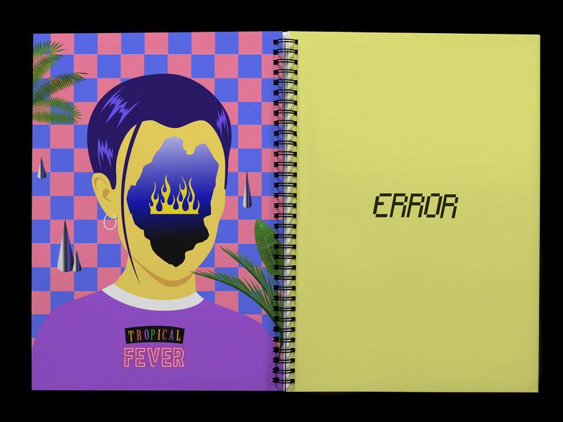BudapestPark Illustration poster type branding charicature design contemporaryart typography printable printdesign contemporary graphic surreal graphicdesigns graphicdesign magazine design magazine dtp adobe illustrator illustration