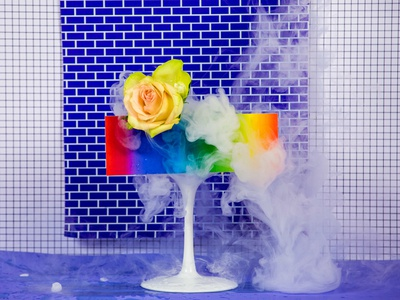 Dry Ice and Rose