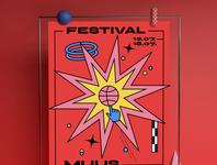 Muus festival design