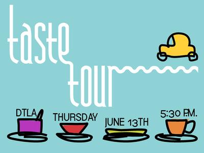 Taste Tour Postcard