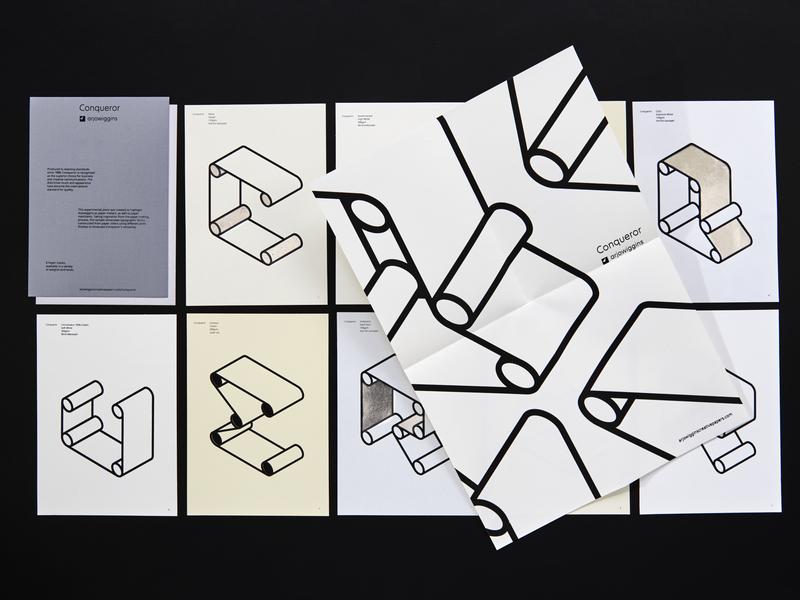 Roller Type typeface paper lasercut foiling embossing screenprint arjowiggins typography design illustration