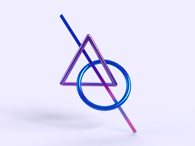Destiny hellodribble hellodribbble aesthetic logo branding design 3d modeling digital art graphic art geometric art geometry dimension 3d art 3d
