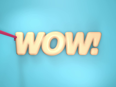 WOW! donuts 3D animation food graphic art internship 3d animation studio 3d artwork donuts animations pastry wow hellodribbble c4dfordesigners c4d donut foodie 3d animation animation cinema4d