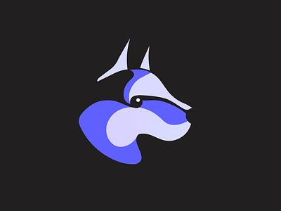 Wolf logo 🙌 logodesign logo illustrator graphic  design graphic art illustration cute dog cute wolf wolf illustration dog illustration dog logo dog logo design wolf logo wolf