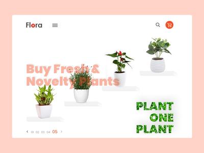 Flower Plants Shop