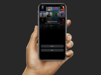 Music App Signup Page
