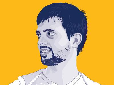 Vector Portrait vector portrait illustrator youth man student