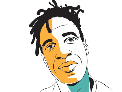 Saul Williams illustrator author portrait vector