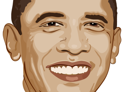 Obama Portrait vector portrait vector portrait president obama barack obama