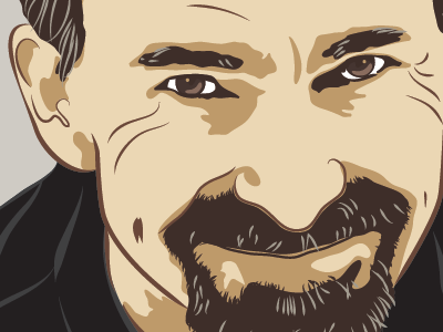 Vector Portrait illustrator detail vector vector portrait