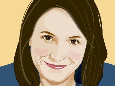 Karen Russell 2 vector portrait author illustrator