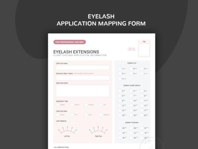 Eyelash Extensions Technician Forms